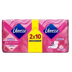 Higieniniai paketai LIBRESSE INVISIBLE NORMAL, 20 vnt.