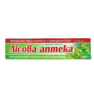 Dantų pasta LISOVA APTEKA, 50 ml