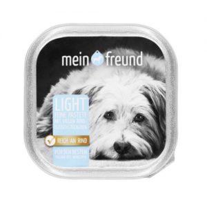 Šunų ėdalas, paštetas su jautiena MEIN FREUND, 150 g