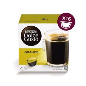 Kavos kapsulės NESCAFE DOLCE GUSTO ESPRESSO GRANDE, 16 kaps.