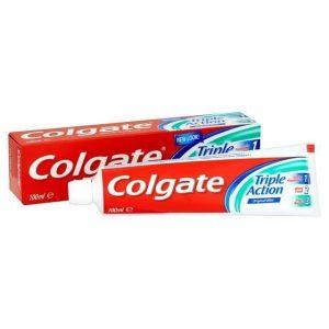 Dantų pasta COLGATE TRIPLE ACTION ORIGINAL MINT, 100 ml