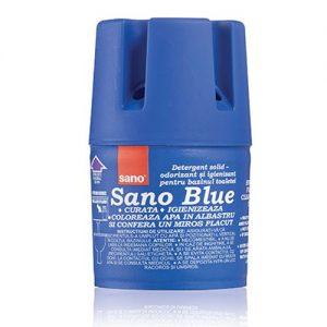 Higieninis WC bakelių muilas SANO BLUE, 150 g