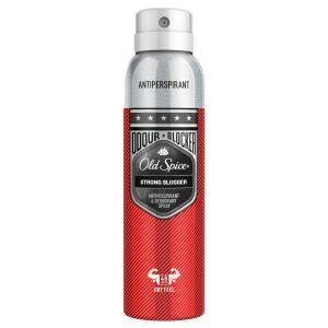 Vyriškas purškiamasis dezodorantas OLD SPICE ODOR BLOCKER STRONG SLUGGER, 125 ml