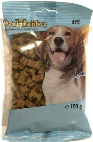 Šunų skanėstai su paukštiena DELIBITE, 150 g