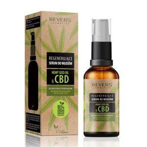 Regeneruojamasis plaukų serumas HEMP SEED OIL & CBD, 50 ml