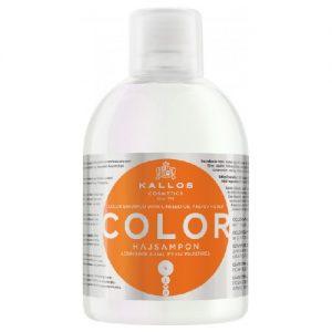 Plaukų šampūnas KALLOS COSMETICS COLOR, 1000 ml
