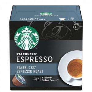 Kavos kapsulės STARBUCKS ESPRESSO, 12 kaps.