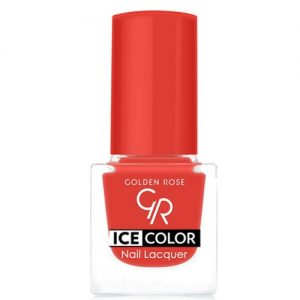 Nagų lakas GOLDEN ROSE ICE COLOR, Nr. 123, 6 ml