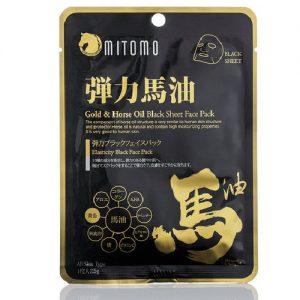 Veido kaukė MITOMO GOLD & HORSE OIL, 25 g
