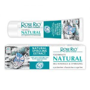 Dantų pasta  ROSE RIO NATURAL, 65 ml