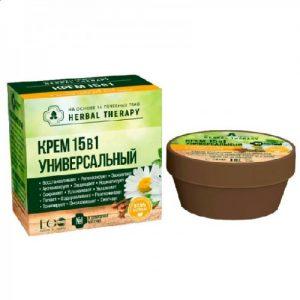 Kūno kremas HERBAL THERAPY, 50 ml