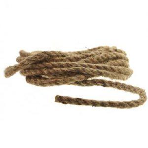 Džiuto virvė ALMA GARDEN, 4,5 m x 7mm, 1 vnt.