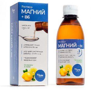 Maisto papildas MAGNIS + B6, 250 ml
