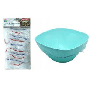 Plastikiniai gaubtai su gumytėmis REICHSTEN & KAUFMANN, 10 vnt.