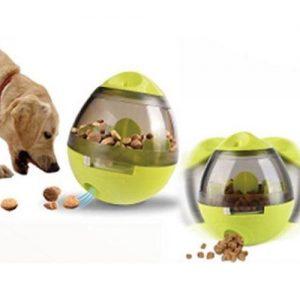 Šunų ėdalo dozavimo kamuolys, 11,5 x 10 cm