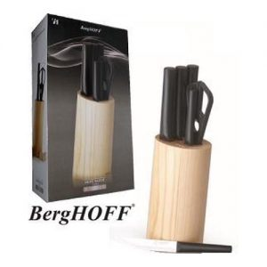 Virtuvės peilių ir žirklių rinkinys su stovu BERGHOFF, 1 kompl.