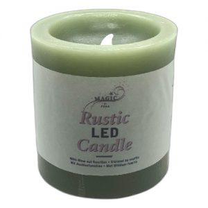 Žvakė LED MAGIC h-10,5 cm, 1 vnt.