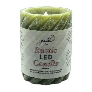Žvakė LED MAGIC h-10cm, 1 vnt.