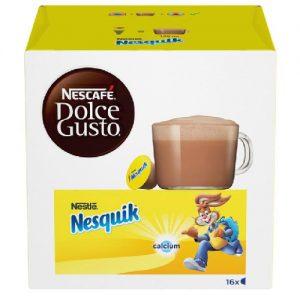 Kakavos ir pieno gėrimas NESCAFE DOLCE GUSTO NESQUIK, 16 kaps.