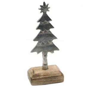 Kalėdinė dekoracija EGLUTĖ, 19 cm