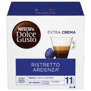Kavos kapsulės NESCAFE DOLCE GUSTO RISTRETTO ARDENZA, 16 kaps.