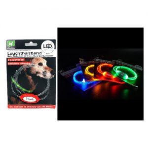 LED antkaklis HAPPY DOG, 1 vnt.
