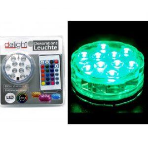 LED lempa su valdymo pulteliu DELIGHT 1 vnt.
