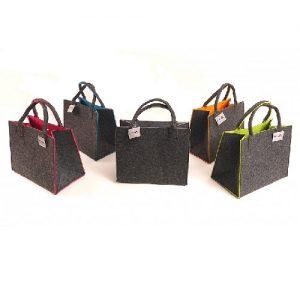Pirkinių krepšys VIVA FASHION veltas 35 x 20 x 28 cm, 1 vnt.