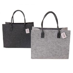 Pirkinių krepšys VIVA FASHION veltas 42 x 22 x 33 cm, 1 vnt.