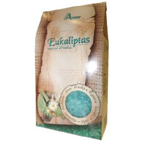 Vonios druska AQUA AMBER EUKALIPTAS, 500 g
